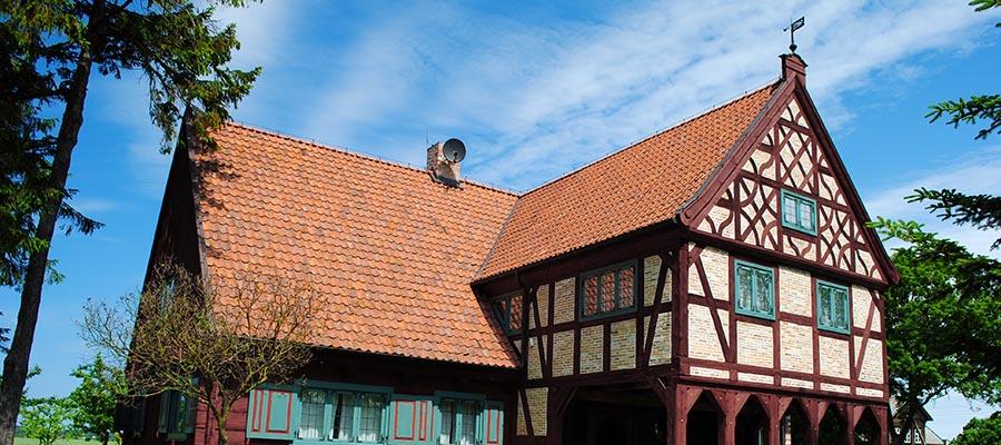 Altes Bauernhaus im Weichselland