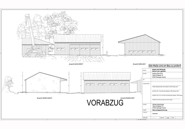 Holzrahmenbau konstruktion grundriss  Planung | Holzbau Dietz OHG